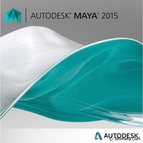 AUTODESK Maya 2015 [657G1-G1541C-4001] - Software Animation / 3d Licensing